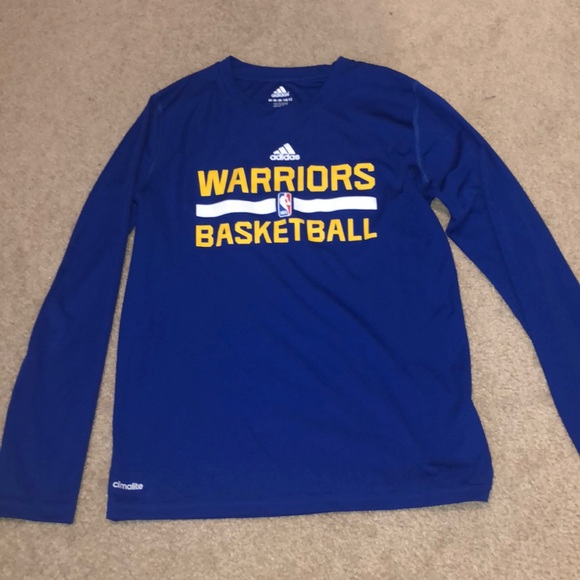 boys youth adidas golden state warriors